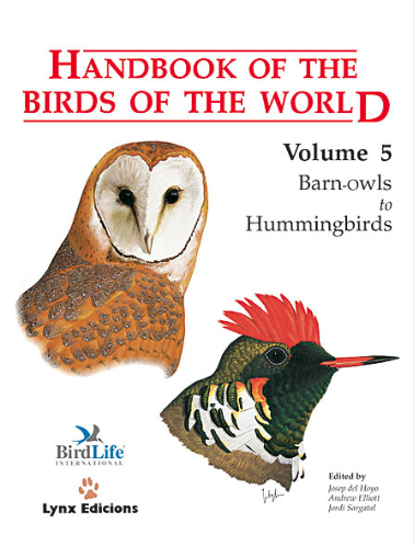 Handbook of the birds of the world Vol.5 / Envoi offert