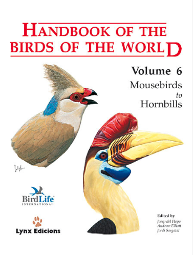 Handbook of the birds of the world Vol.6 / Envoi offert