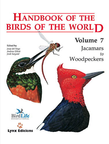 Handbook of the birds of the world Vol.7 / Envoi offert