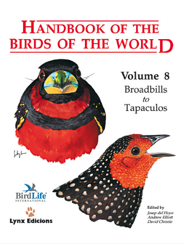 Handbook of the birds of the world Vol.8 / Envoi offert