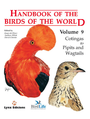 Handbook of the birds of the world Vol.9 / Envoi offert