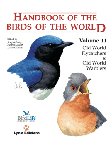 Handbook of the birds of the world Vol.11 / Envoi offert