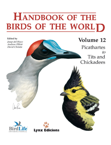 Handbook of the birds of the world Vol.12 / Envoi offert