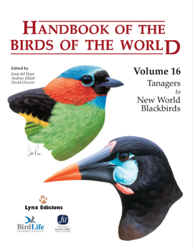 Handbook of the birds of the world Vol.16 / Envoi offert